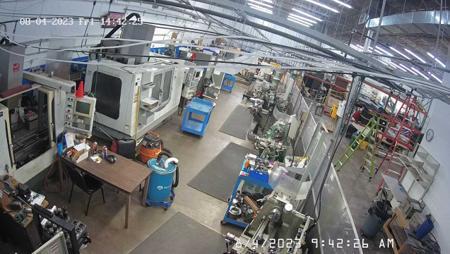 Machine Shop Camera