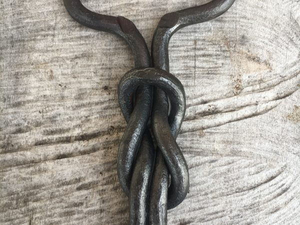 HankCowdog forged squre knot bottle opener