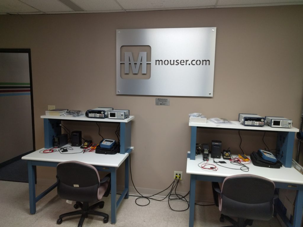 New Mouser Electronics Benches