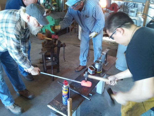 Blacksmithing Hammer Down