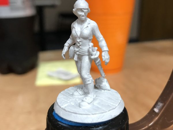 sinless Form2 Resing 3D Printed Heroform2