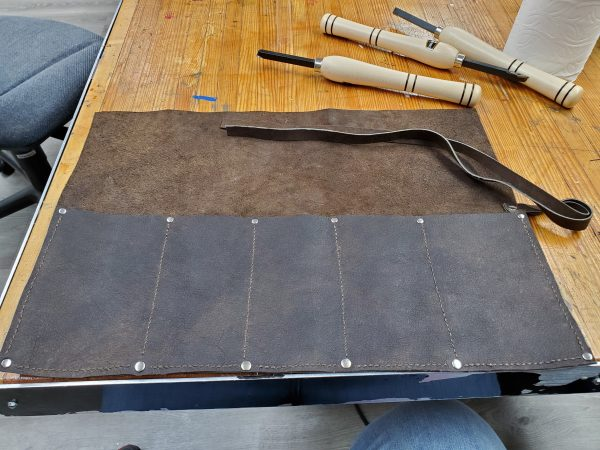 texantrinity Turning Tool Roll in Leather 1